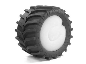 Part#: 43001 - Monster Truck Tires W/ Inserts - Tractor (Pair)