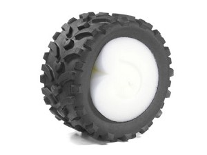 Part#: 43004 - Monster Truck Tires W/ Inserts - Vector (Pair)