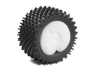 Part#: 43005 - Monster Truck Tires W/ Inserts - Porcupine (Pair)