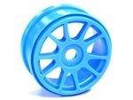 Part#: 44203 - 1/8 Buggy Wheels - Blue Spoke (Pair)
