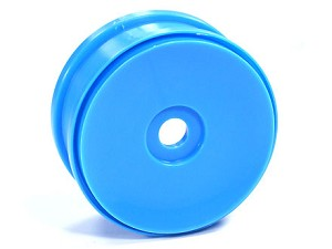 Part#: 44207 - 1/8 Buggy Wheels - Blue Dish (Pair)