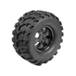 Part#: 45016 - Pre-Mounted Massive Monster Tires - Oval W/Claws (Pair) 6.75