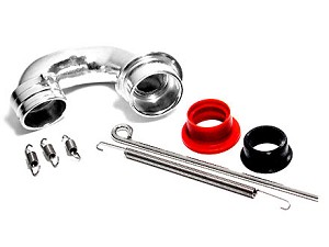Part#: 60510 - Header Set Only For 61510 Tmaxx 2.5 Curved Pipe