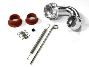Part#: 60510OS - Header Set Only For 61510 Tmaxx 2.5 Curved Pipe (Os 18 Engine)