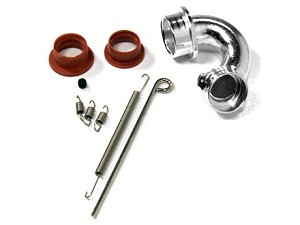 Part#: 60930OS - Header Set For 61930 One Piece Exhaust For Jato (Os 18 Engine)
