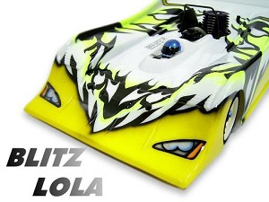 Part#: 75401 - Blitz 1/8 Gp Lola Bodyshells