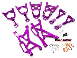 Part#: BAJ-ARM - Aluminum Arms Set (8) For Hpi Baja 5B