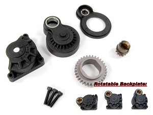 Part#: CP0087 - Rotatable 360 Backplate Set For Traxxas 2.5 And 3.3 Engines