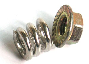 Part#: MA2024 - Slipper Lock Nut/Spring Set