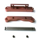Part#: UG0013 - 7075 T6 Rear Lower Suspension Mounts(Aluminum) With Pin(3°)