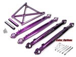 Part#: WHK-015 - Aluminum Steering Rod/Links & Brace Set