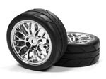 Part#: 41020 - 1/10 Premounted Tires -