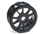 Part#: 44204 - 1/8 Buggy Wheels - Black Spoke (Pair)