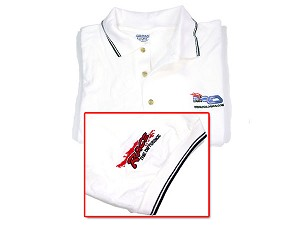 Part#: 80020W - Rdlogics Polo Shirt (White)